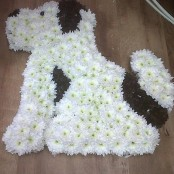 DOG FUNERAL TRIBUTE