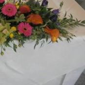 Top table flower display